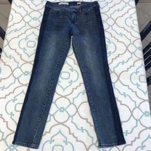 Pilcro Pinstripe Style Jeans
